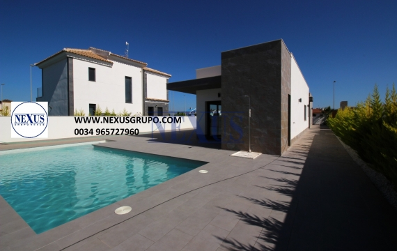 Chalet independiente en Costa Blanca Sur