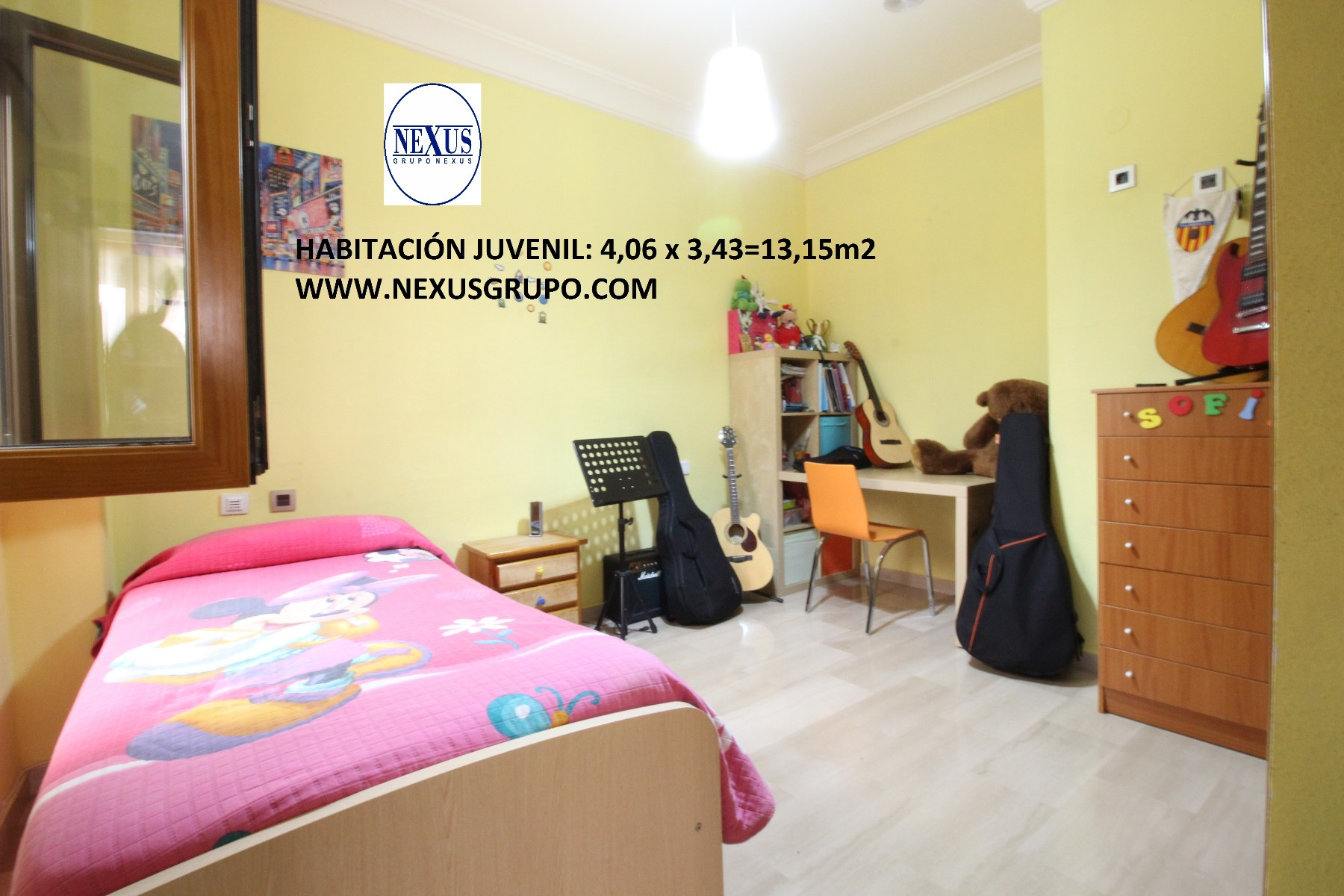 GRUPO NEXUS ESTATE AGENCY SELLS EXCELLENT AN APARTMENT IN GROUND FLOOR in Nexus Grupo