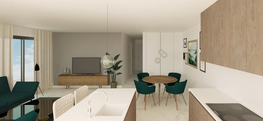 Real Estate Group Nexus, presents a new promotion of luxury apartments in Nexus Grupo