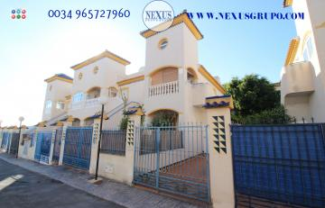 INMOBILIARIA GRUPO NEXUS SELLS EXCELLENT BUNGALOW ON THE UPPER FLOOR IN EL EDÉN GUARDAMAR DEL SEGURA URBANIZATION in Nexus Grupo