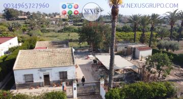 REAL ESTATE GROUP NEXUS SELLS RUSTIC LAND WITH HOUSE IN LA MARINA in Nexus Grupo