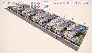 INMOBILIARIA, GRUPO NEXUS, SELLS 18 TERRACED VILLAS ON THE BACK IN SAN FULGENCIO - LA MARINA- SOUTH ALICANTE in Nexus Grupo