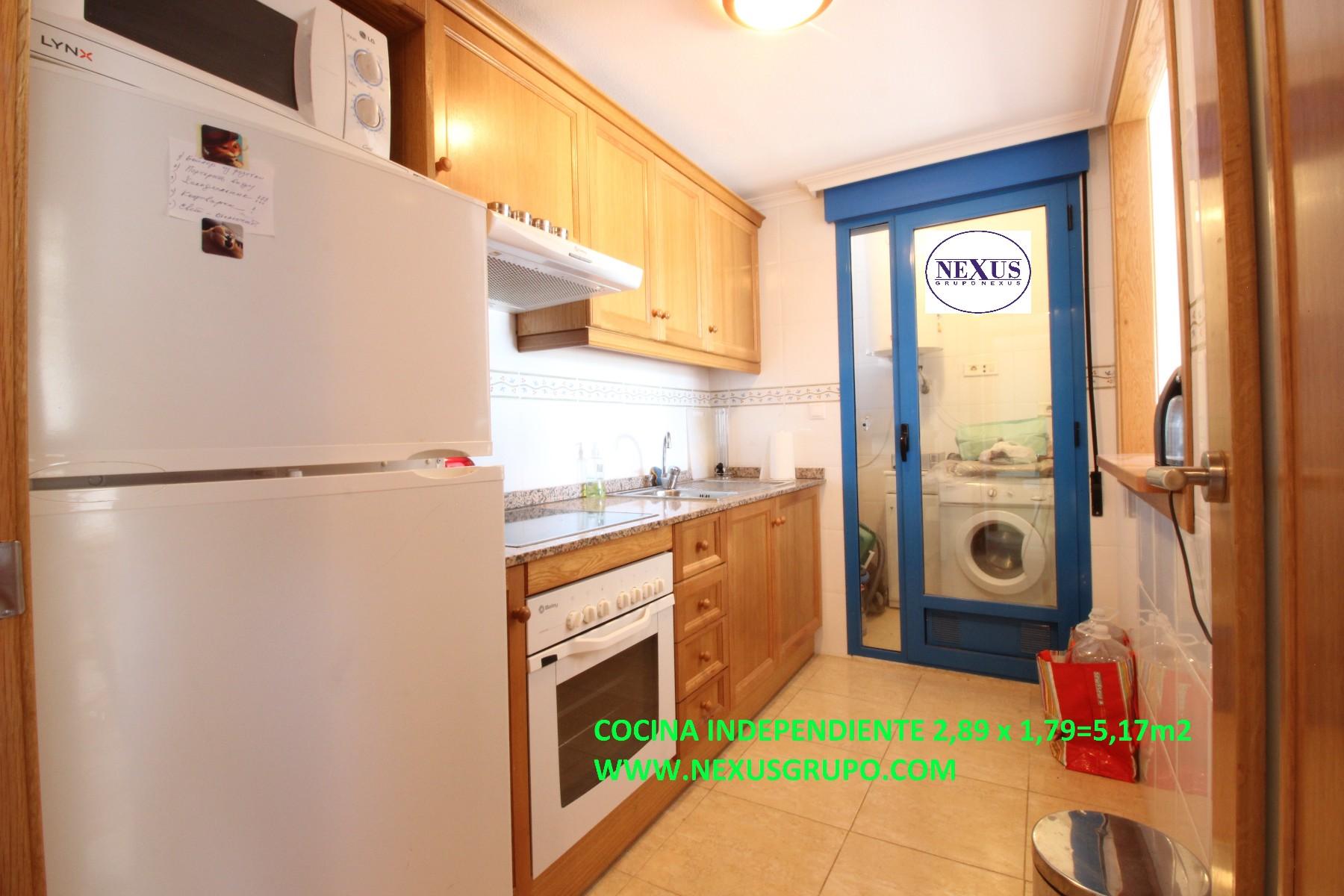 Inmobiliaria GRUPO NEXUS, SELLS. Excellent apartment on the ninth floo