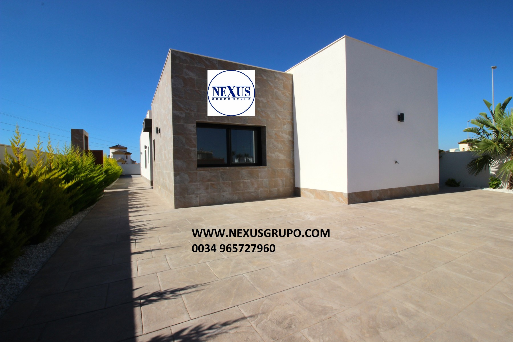 Detached house of new construction in South Costa Blanca