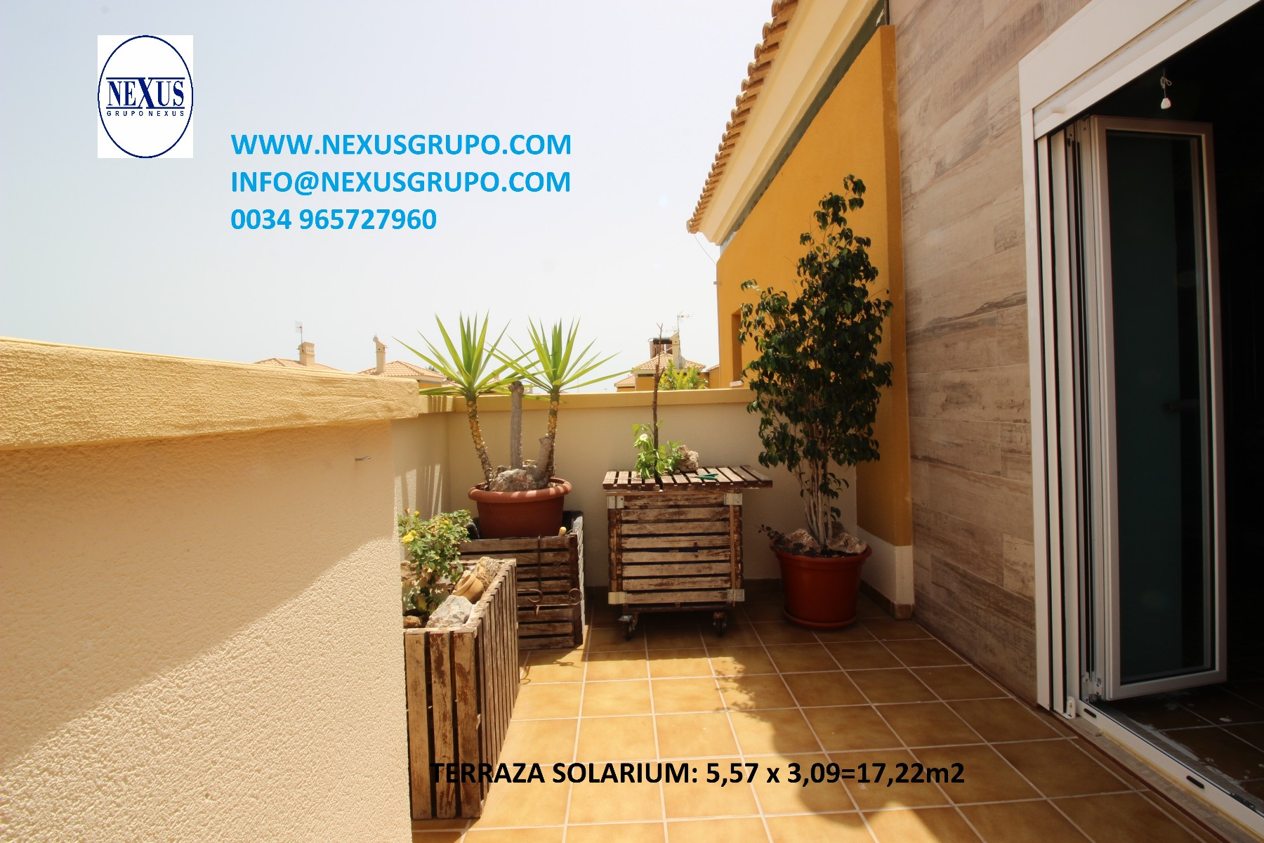 Inmobiliaria Grupo Nexus, Sells, Excellent semi-detached house in the Bañet de Almoradí