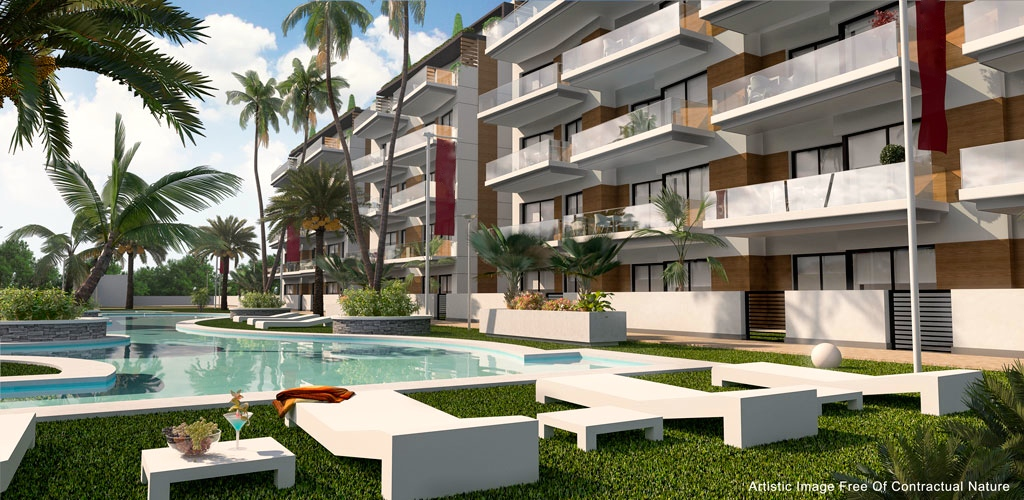 Luxury new construction residential in front of the sea. in Nexus Grupo