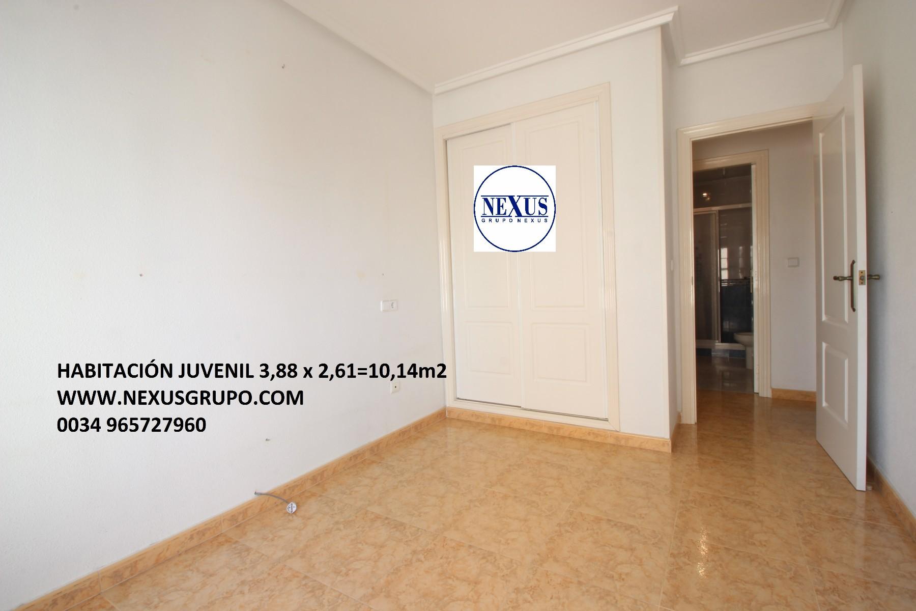 Grupo Nexus Real Estate Agency sells an apartment close to Mas y Mas supermarket. in Nexus Grupo