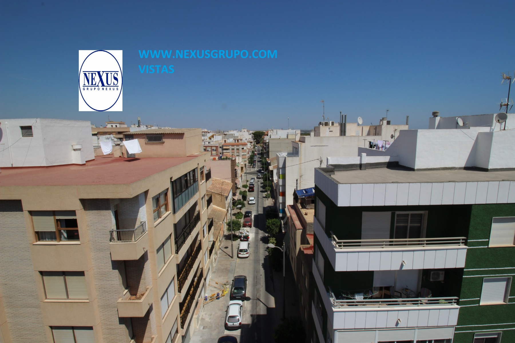 Grupo Nexus State Agency sells magnificent duplex penthouse in the center of Guardamar! in Nexus Grupo
